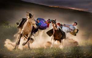Circuit Merit Award e-certificate - Mingqing Yin (China)  Horseback Stunt