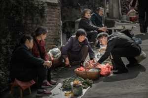 PhotoVivo Gold Medal - Yali Hu (China)  Street Vendor 1