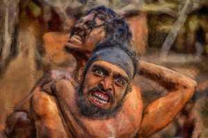 PhotoVivo Gold Medal - Pandula Bandara (Sri Lanka)  The Fight