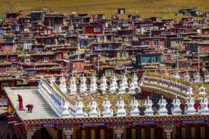 PhotoVivo Honor Mention - Cong Chi (China)  Holy Land
