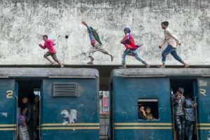 PhotoVivo Gold Medal - Arnaldo Paulo Che (Hong Kong)  Jump Over The Train 2