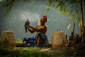 APAS Honor Mention e-certificate - Ajar Setiadi (Indonesia)  Balinesse Old Man