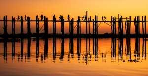 Circuit Merit Award e-certificate - Xiaojun Chen (China)  Sunset Of Uben Bridge