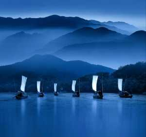 ICPE Honor Mention E-Certificate - Jingsheng Nie (China)  Boats In Water