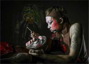 PhotoVivo Gold Medal - Yi Wan (China)  Face Painting 11