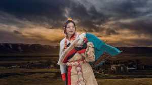 Honor Mention - Lin You (China)  Tibetan Girl.Dsc_5985A