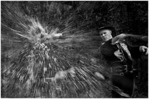 PhotoVivo Gold Medal - Thomas Lang (USA)  Break Through Splashing
