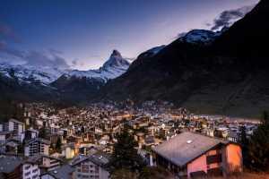 Circuit Merit Award e-certificate - Ranajabeen Nawab (India)  Zermatt Blue Hour