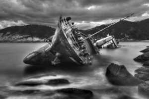 RPST Honor Ribbon - Yiu Wah Wong (Hong Kong)  Sinking Ship