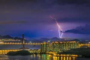 APAS Honor Mention e-certificate - Yuet Yee Wong (Hong Kong)  Lightning