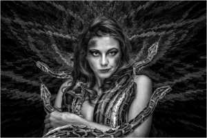 Golden Dragon Photo Award - Lee Eng Tan (Singapore) - Snake Woman 2