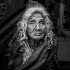 APAS Gold Medal - Weining Lin (China)  Old Woman 1