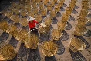 RPST Bronze Medal - Hlaing Myint Min (Myanmar)  Basket Maker