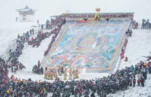 Golden Dragon Photo Award - Yining Yang (China) - Sunning Buddha In The Snow