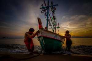 PSA HM Ribbons - Chaiyatat Namsubin (Thailand)  Begin The Day Of Fisherman