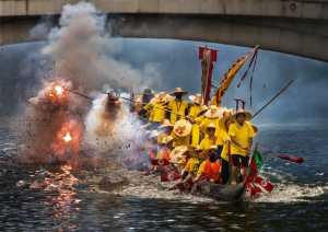 APU Gold Medal - Hung Kam Yuen (Australia)  Firecrackers Spark On