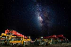 PhotoVivo Gold Medal - Cheng Zhu (China)  Under The Starry Sky