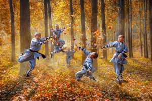 PSA Gold Medal - Yuk Fung Garius Hung (Hong Kong)  Autumn Leaves 2