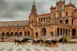 PhotoVivo Gold Medal - Donald Dedonato (USA)  Carriages Plaza De Espana