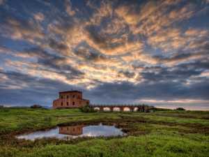 PhotoVivo Gold Medal - Michele Macinai (Italy)  Tuscan Sunrise On Water 5
