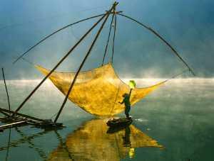 RPST Honor Ribbon - Dao Tien Dat (Vietnam)  Morning On Tuyen Lam Lake No 2