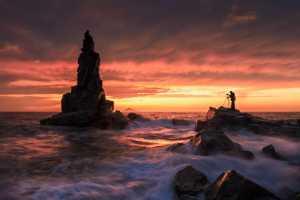 PhotoVivo Gold Medal - Houyu Liu (China)  Sunset In General Stone