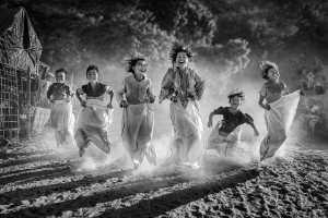 PSA Gold Medal - Yuk Fung Garius Hung (Hong Kong)  Sack Race