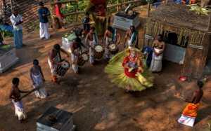 PhotoVivo Honor Mention e-certificate - Bhaskar Athavale (India)  Thayyam Dance 01