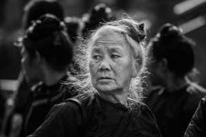 APAS Gold Medal - Tiegang Shi (China)  Old Woman