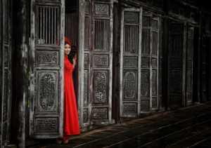 APU Gold Medal - Lee Eng Tan (Singapore)  Viet Red Lady Lookout Door
