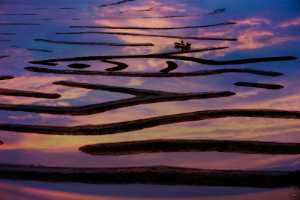 PhotoVivo Gold Medal - Jianjun Lv (China)  Boating At Dusk