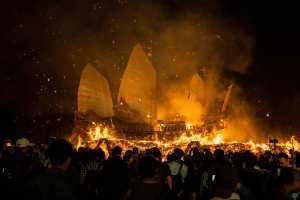 PSA HM Ribbons - Lilo Chen (Taiwan)  Temple Fair-Burning King Ship