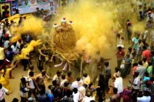 APAS Honor Mention e-certificate - Umashankar Bn (India)  Haldi  Festival