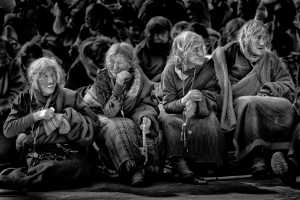 PhotoVivo Gold Medal - Phillip Cheang (Malaysia)  Four Grannies