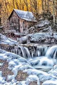 Circuit Merit Award e-certificate - Ken Weaver (USA)  Grist Mill And Waterfalls