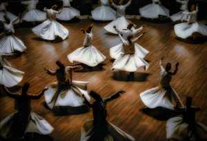 APU Honor Mention E-Certificate - Babak Mehrafshar (Iran)  Whirling Dancers