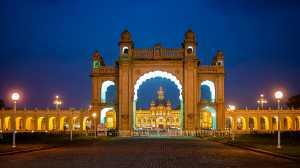 APU Honor Mention e-certificate - Nilendu Banerjee (India)  Mysore Palace Entrance