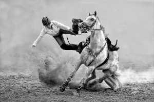 APAS Bronze Medal - Kam Chiu Tam (Canada)  A Brave Cowgirl