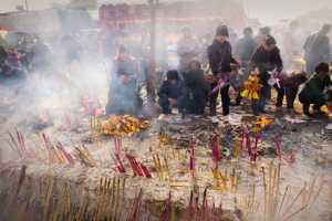 APAS Gold Medal - Chunhui Jiang (China)  Burning Incense