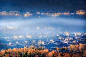PhotoVivo Honor Mention e-certificate - Jianping Li (China)  Morning Glow Of Hemu