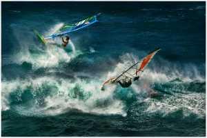 PhotoVivo Honor Mention e-certificate - Thomas Lang (USA)  Hawaii Windsurfing