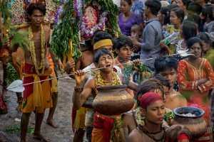 FIP Ribbon - Pyae Phyo San Maung (Myanmar)  Hindu Thaipusam Festival