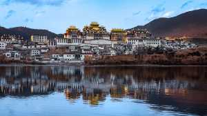 APU Gold Medal - Mei Zhang (China)  Temple Near The River