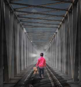 Honor Mention - Shehan Trek (Sri Lanka)  I Walk Alone 6