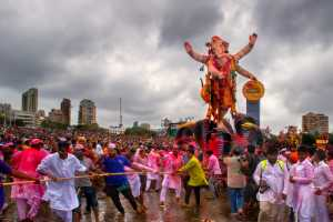 APAS Honor Mention e-certificate - Bhaskar Athavale (India)  Lord Ganesha Immersion