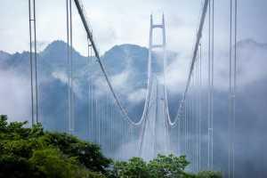 APAS Gold Medal - Yue Chen (China)  Pale Clouds Over Aizhai Bridge