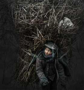 PhotoVivo Honor Mention e-certificate - Yuxiang He (China)  Heavy Burden