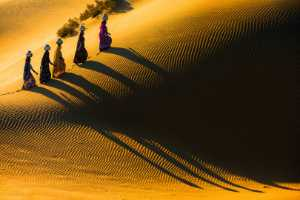 ICPE Honor Mention e-certificate - Zenghua Liu (China)  Beauties In Desert 1