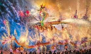 Best 100 Collection - Sinkai Cheung (Australia)  Glorious Fire Dragon