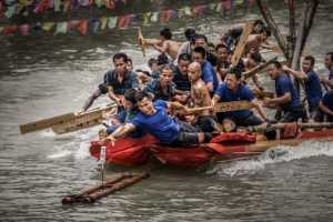 APU Gold Medal - Yu Lun (China)  Dragon Boat Game
